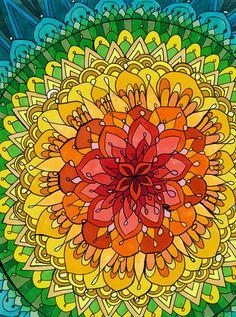 Mandala Apocalypse by PaintMyWorldRainbow.deviantart.com on @deviantART