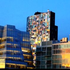 NYC architecture - view from the Highline