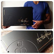 View our gallery of a selection of custom portfolio books, leather portfolio cases, and business signage we've created. Portfolio Covers, Portfolio Resume, Tattoo Portfolio, Portfolio Book, Portfolio Images, Creative Portfolio, Portfolio Ideas, Desing Inspiration, Design Ideas