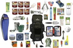 2.0 Bug Out Bag, Survival Outdoor Kit by OuttaGEAR