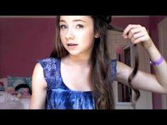 """Hanna"" from Pretty Little Liars Inspired Hair Tutorial!"