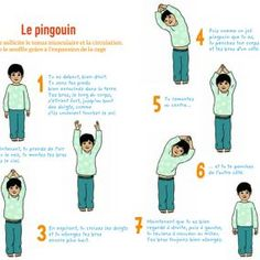 petit-yoga-pomme-d-api-le-pingouin - Alice Pin World Poses Yoga Enfants, Kids Yoga Poses, Easy Yoga Poses, Yoga For Kids, Exercise For Kids, Children Exercise, Kids Workout, Bikram Yoga, Yoga Gym