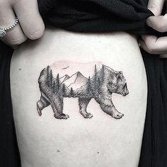 No photo description available. Ankle Tattoo Small, Small Tattoos, White Tattoos, Ankle Tattoos, Tiny Tattoo, Temporary Tattoos, Black Bear Tattoo, Polar Bear Tattoo, California Bear Tattoos