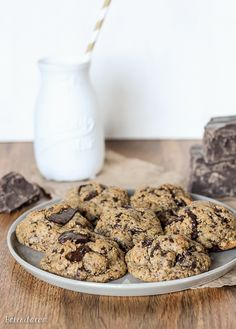 These Paleo Chocolate Chip Cookies totally nail the taste and texture of your favorite classic treat - the taste testers who tried these had no idea they were Paleo! These gluten free, dairy free, refined sugar free chocolate chip cookies give you all the comfort without the guilt.