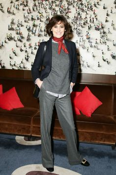Inès De La Fressange - Roger Vivier and the Society of Memorial Sloan Kettering Cancer Center Host Winter Lunch