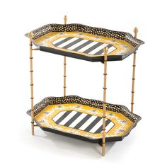 MacKenzie-Childs | Queen Bee Tray Table