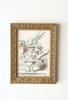 The White Rabbit from Alice In Wonderland