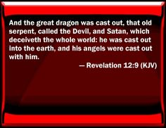 Bible Verse Powerpoint Slides for Revelation 12:9