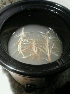 Homemade scents to fill your home - rosemary, lemon & vanilla