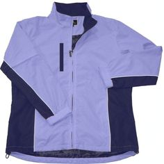 Introducing the new Weather Company Ladies Long Sleeve Full-Zip Waterproof Microfiber Golf Jacket featuring full-zip jacket with zip away sleeves, easily converts to short-sleeved jacket! #lorisgolfshoppe