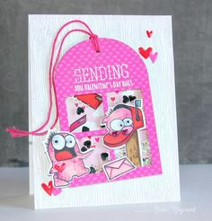 Such an Adorable card by Nichol Magouirk using Simon Says Stamp Exclusives a long with Pretty Pink Posh.