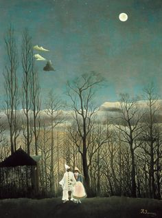 Carnival Evening by Henri Rousseau by vintagepostercompany on Etsy