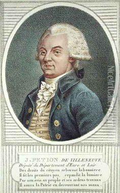 Jerome Petion de Villeneuve (1756-94) Oil Painting - Jean Baptiste Verite