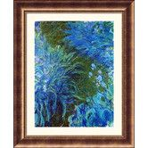 Found it at Wayfair - Museum Reproductions 'Iris' by Claude Monet Framed Photographic Print