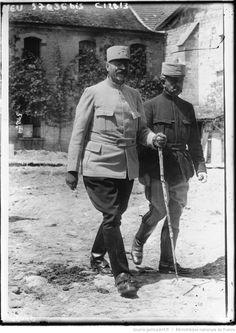 Les généraux Micheler et Marchand : [photographie de presse] / Agence Meurisse