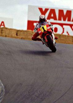 500cc GP. Wayne Rainey Laguna Seca 1991