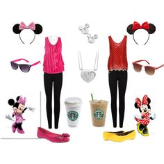 """Best Friends @ Disneyland"" by alane-green on Polyvore"