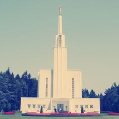Switzerland, Bern, LDS/MormonTemple.  I love that this looks so vintage.  It seems very Switzerlandish.