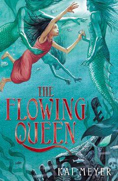 """""""Die Fließende Königin"""" in Großbritannien - """"The flowing queen"""" / Band 1 der Merle Trilogie"""
