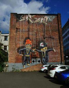 Street Art , Glasgow