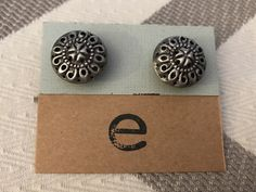 Retro Classic Studs by Gingerproducts on Etsy https://www.etsy.com/listing/494529564/retro-classic-studs
