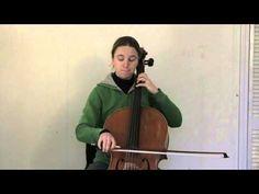 several cello lesson videos