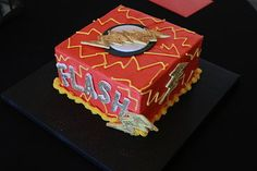 Flash Cake   Eli's 3rd B'day Party collection by Kristi Chappell Photography