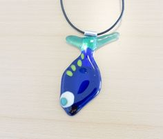 Fused glass - necklace