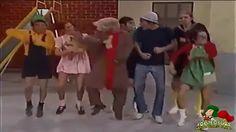 Genial, parece que antes de PSY, el Chavo del 8 ya conocia de este baile