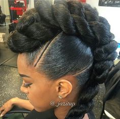 Tag a friends that would rock this style. African Braids Hairstyles, Braided Hairstyles, Wedding Hairstyles, Braided Updo, Top Hairstyles, Short Hairstyle, Protective Hairstyles, Black Girl Braids, Girls Braids