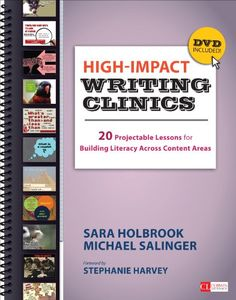 High-Impact Writing Clinics: 20 Projectable Lessons for Building Literacy Across Content Areas (Corwin Literacy) by Sara Holbrook http://www.amazon.com/dp/1452286868/ref=cm_sw_r_pi_dp_sWcHvb0D1DGK6