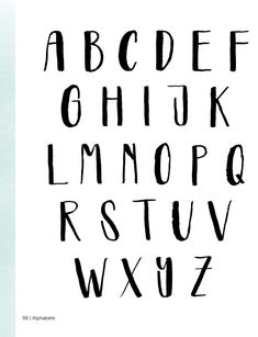 Instructions for lettering - the art of beautiful writing Handwriting Alphabet, Hand Lettering Alphabet, Calligraphy Letters, Fancy Fonts Alphabet, Lettering Styles, Brush Lettering, Cool Lettering, Creative Lettering, Bullet Journal Writing