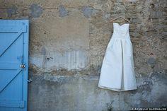 Robe Mariée... Satin de soie.  #mariage #toulouse ©Armelle Razongles Photographe