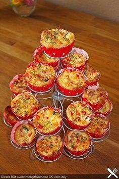 Mini-Party-Quiches, ein sehr leckeres Rezept aus der Kategorie Kalt. Bewertungen: 441. Durchschnitt: Ø 4,6.