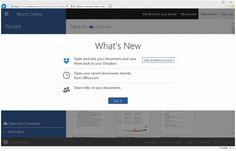 Dropbox anuncia la integración a partir de hoy de su servicio con Office Online
