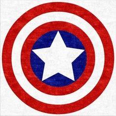 #CaptainAmerica Children's Round Rug