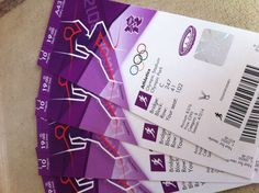 London 2012 event tickets
