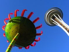 Space Needle with Art Sculpture | Yelp