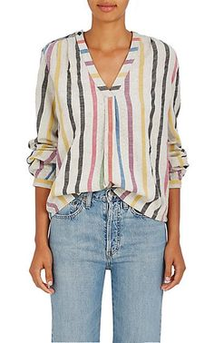Ace & Jig Orla Striped Cotton Tunic - Tops - 505363693
