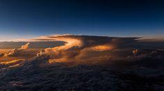 Woow! No podrás creer lo hermoso que salió las fotos desde un avión   ~ Udever