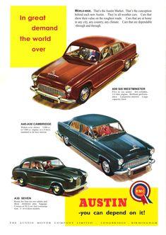 Car Advert Austin Range