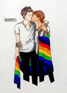 larry stylinson fan art | Tumblr