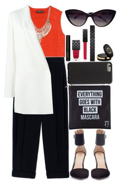 """""""TWLQ"""" by krizan ❤ liked on Polyvore featuring Zara, Sportmax, Jane Norman, Gucci, Lanvin, Eyeko, Case-Mate and Dolce&Gabbana"""