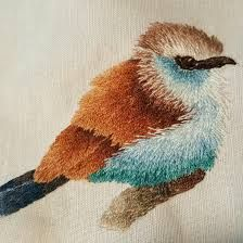 Bird Embroidery, Embroidery Stitches, Longarm Quilting, Machine Quilting, E Flowers, Olive Juice, Textile Art, Needlework, Cross Stitch