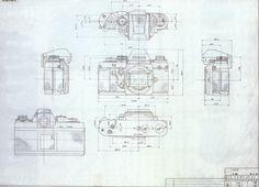 vintage camera blueprint - Google Search