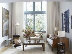 stylish decorating living room window treatments