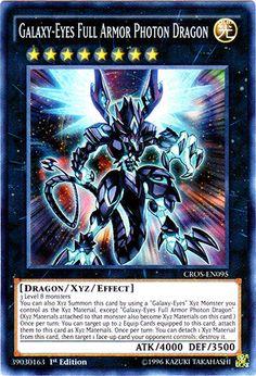 Galaxy-Eyes Full Armor Photon Dragon CROS-EN095 - SUPER RARE