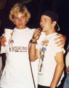 Eddie Vedder & his brother!