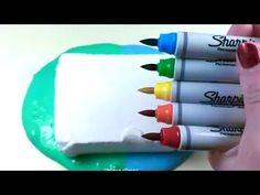 Clay Slime Mixing - Satisfying Slime ASMR Video Compilation All the clips in this video are used with the permissions of the original creators. Diy Slime No Glue, Diy Crafts Slime, Foam Slime, Slime Craft, Perfect Slime, Instagram Slime, Glossy Slime, Silly Putty, Asmr Video