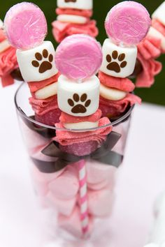 Pink Puppy Party Full of Darling Ideas Ideas via Kara's Party Ideas | KarasPartyIdeas.com #Dog #Puppy #PartyIdeas #PartySupplies